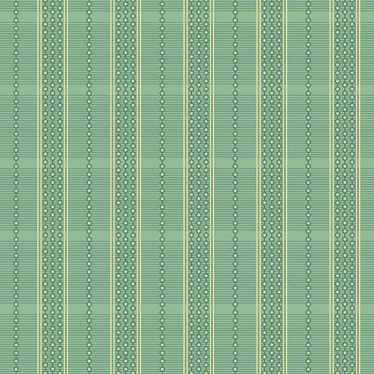 Oak Alley by Di Ford Hall : Fancy Plaid - Turquoise PRE-ORDER ONLY, DUE EARLY 2022