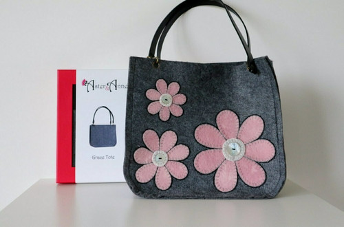 Aster & Anne Felt Bag Kit - Grace Tote