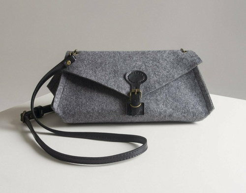 Aster and Anne Felt Bag Kit - Luella Clutch large