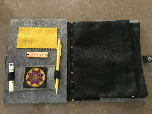 Embroidered Notebook/Project Cover Kit