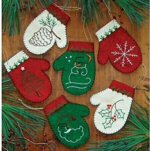 Mittens Ornament Kit