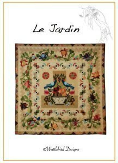 Veronique's Quilt Designs: Le Jardin