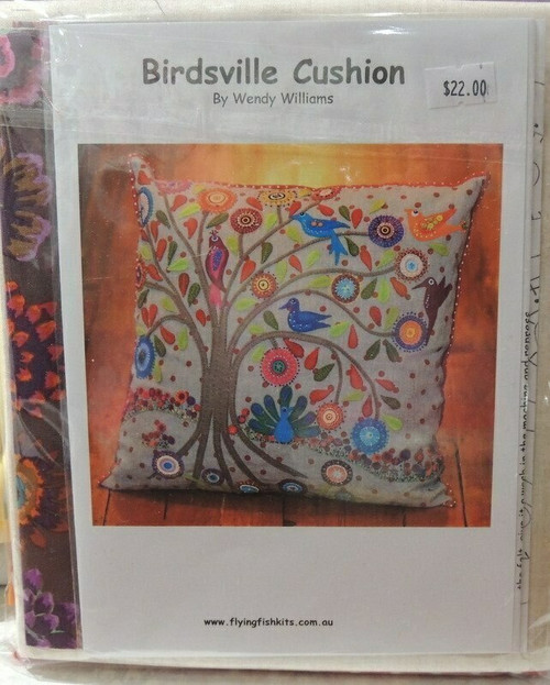 Wendy Williams : Birdsville - Cushion Pattern
