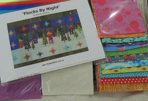 Wendy Williams : Flocks by Night - Table Runner Pattern