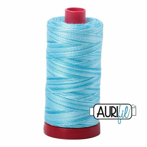 Aurifil 12wt Baby Blue Eyes (4663) thread