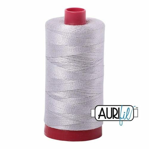 Aurifil 12wt Aluminium (2615) thread