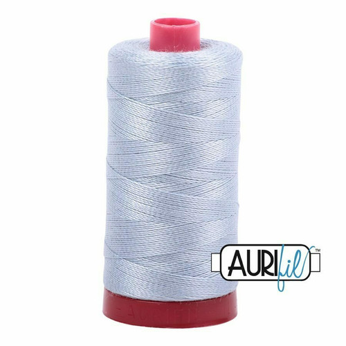 Aurifil 12wt Artic Sky (2612) thread