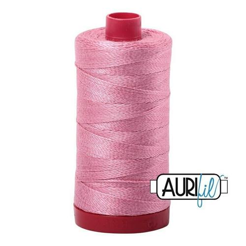 Aurifil 12wt Antique Rose (2430) thread