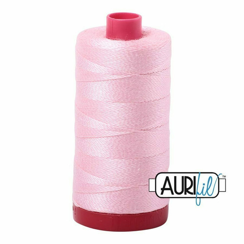 Aurifil 12wt Baby Pink (2423) thread