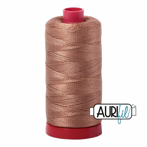 Aurifil 12wt Cafe' au Lait (2340) thread