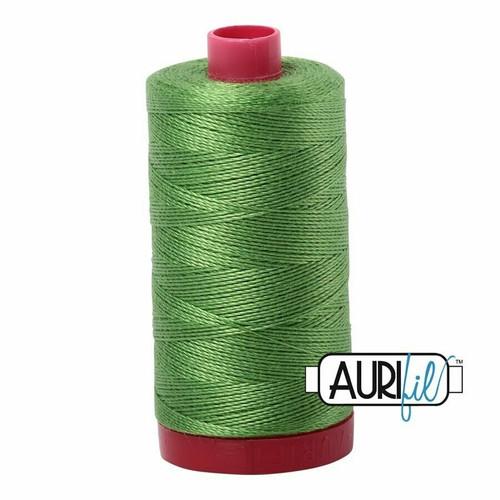 Aurifil 12wt Grass Green (1114) thread