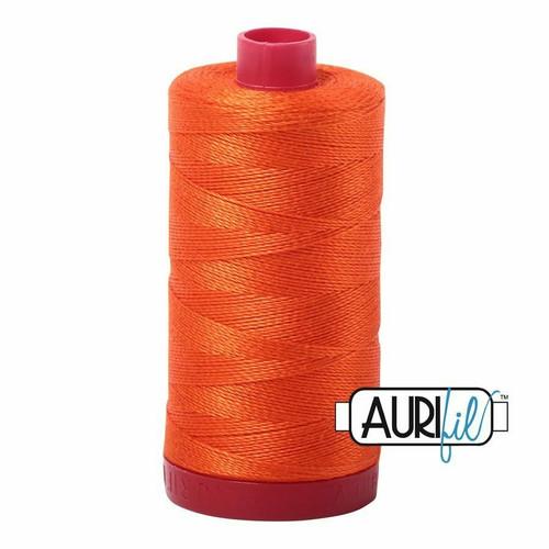 Aurifil 12wt Neon Orange (1104) thread