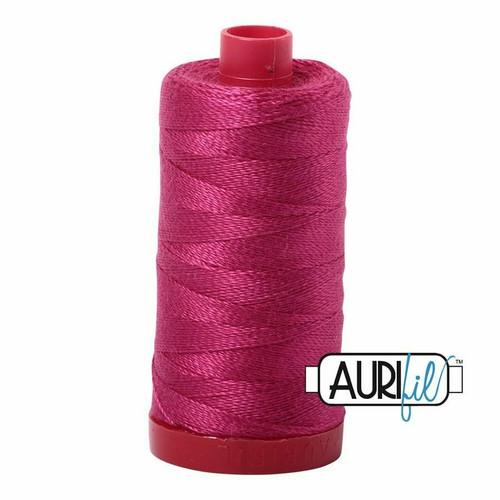 Aurifil 12wt Red Plum (1100) thread