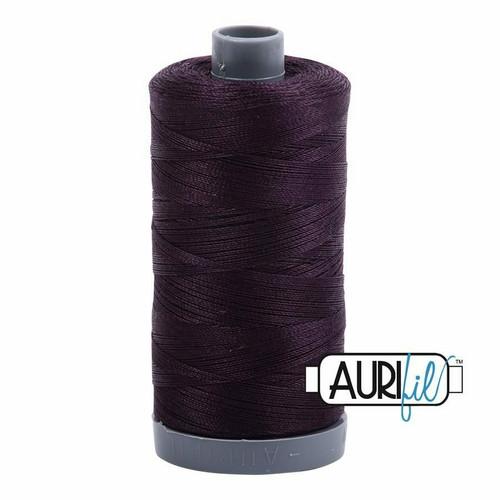 Aurifil 28wt Aubergine (2570) thread