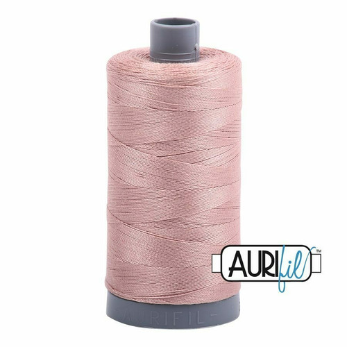 Aurifil 28wt Antique Blush (2375) thread