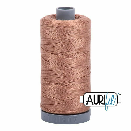 Aurifil 28wt Cafe' au Lait (2340) thread