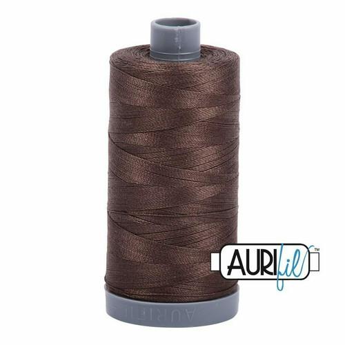 Aurifil 28wt Bark (1140) thread