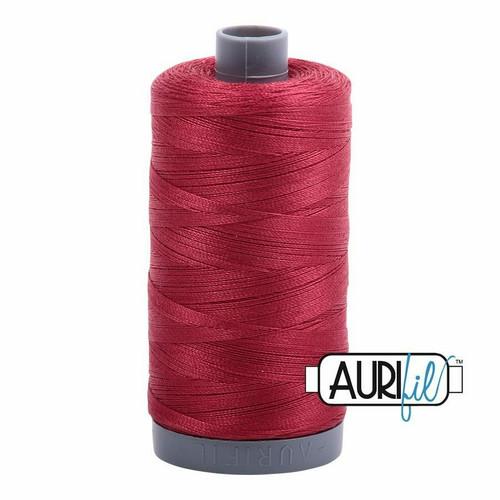 Aurifil 28wt Burgundy (1103) thread