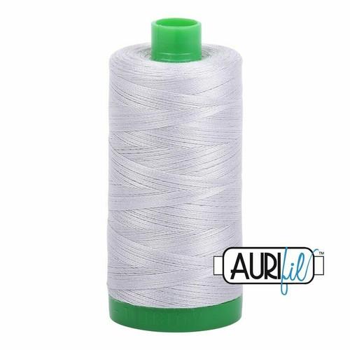 Aurifil 40wt Aluminium (2615) thread