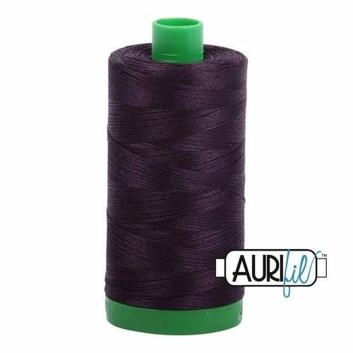 Aurifil 40wt Aubergine (2570) thread