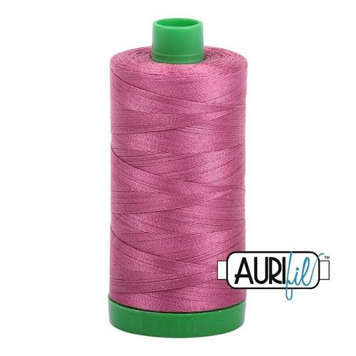 Aurifil 40wt Rose (2450) thread