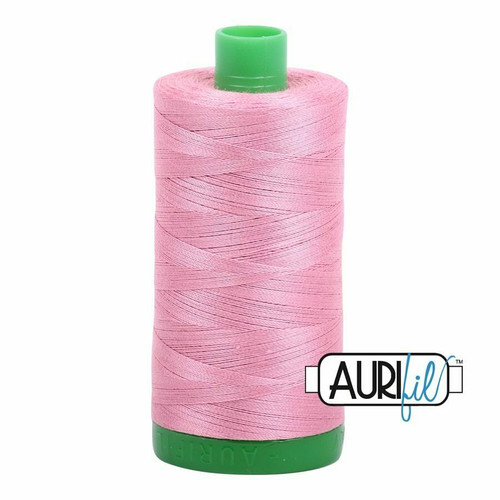 Aurifil 40wt Antique Rose (2430) thread