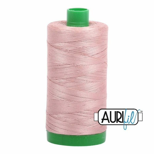 Aurifil 40wt Antique Blush (2375) thread