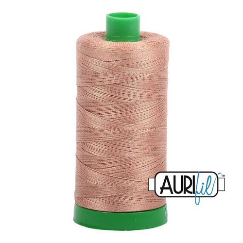 Aurifil 40wt Cafe' au Lait (2340) thread