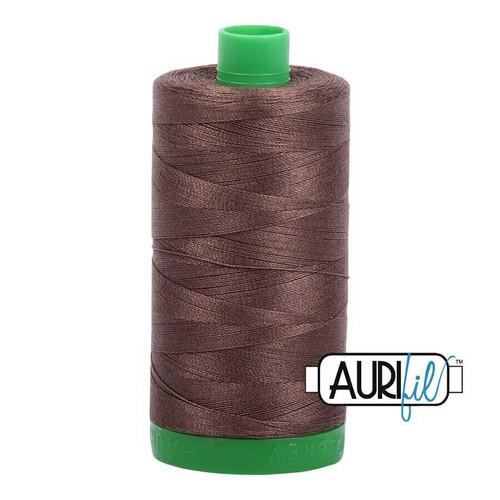 Aurifil 40wt Bark (1140) thread