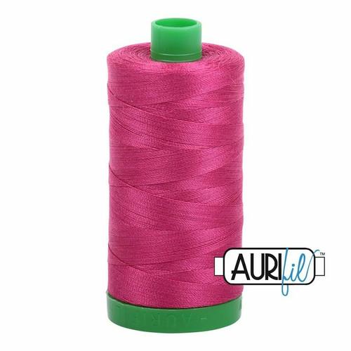 Aurifil 40wt Red Plum (1100) thread
