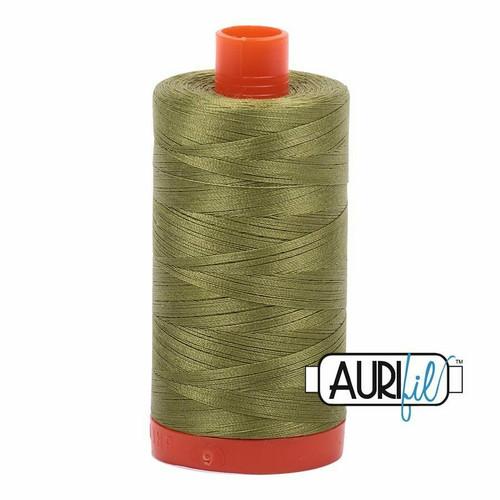 Aurifil 50wt Olive Green (5016) thread