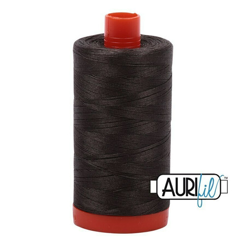 Aurifil 50wt Asphalt (5013) thread