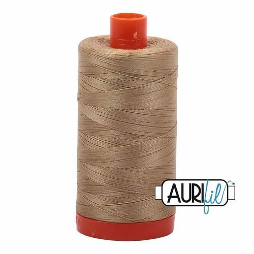 Aurifil 50wt Blond Beige (5010) thread