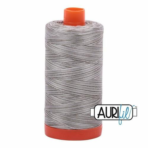 Aurifil 50wt Silver Fox (4670) thread