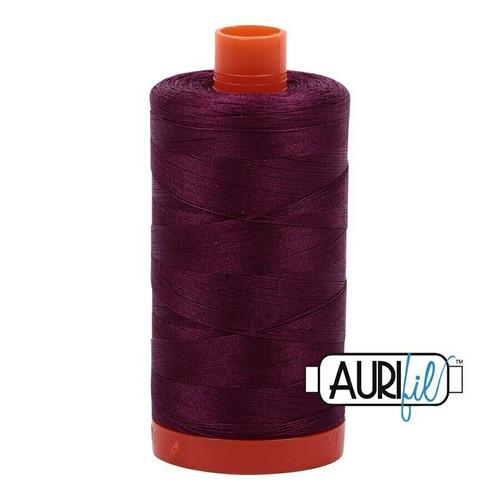 Aurifil 50wt Plum (4030) thread
