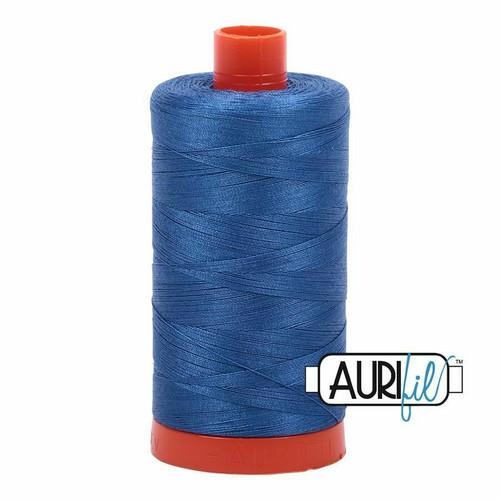 Aurifil 50wt Delft Blue (2730) thread