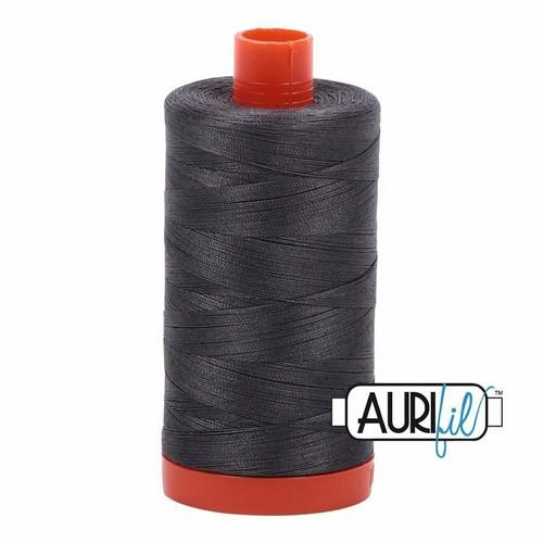 Aurifil 50wt Dark Pewter (2630) thread