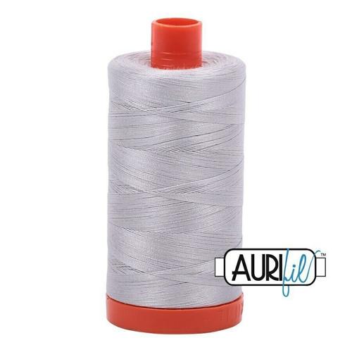 Aurifil 50wt Aluminium (2615) thread