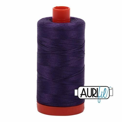 Aurifil 50wt Dark Violet (2582) thread