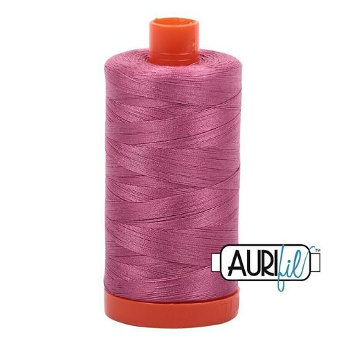 Aurifil 50wt Dusty Rose (2452) thread