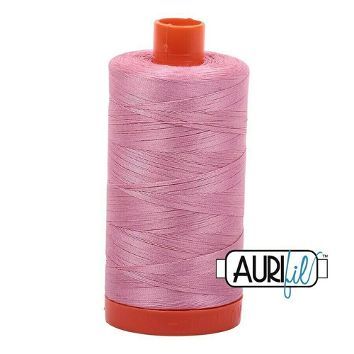 Aurifil 50wt Antique Rose (2430) thread