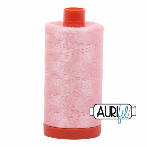 Aurifil 50wt Blush (2415) thread