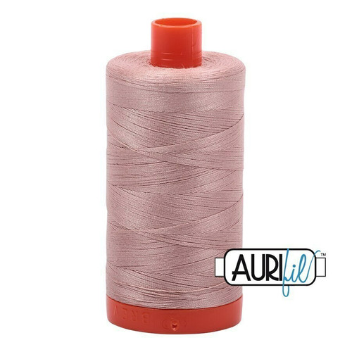 Aurifil 50wt Antique Blush (2375) thread
