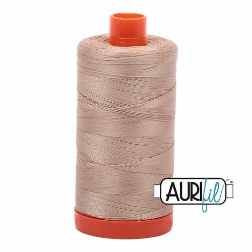 Aurifil 50wt Beige (2314) thread