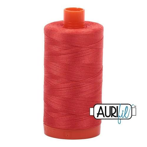 Aurifil 50wt Light Red Orange (2277) thread