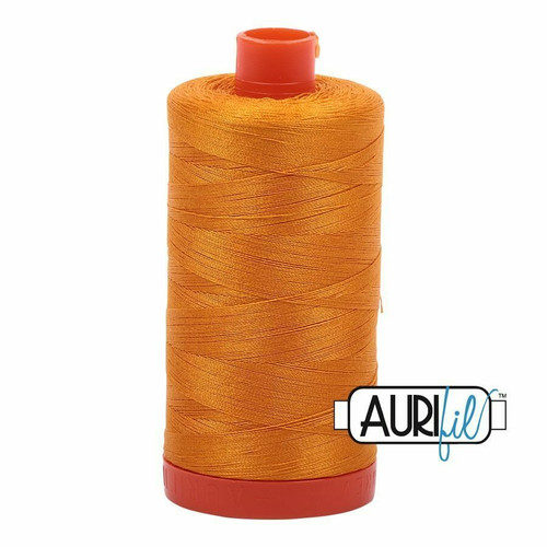 Aurifil 50wt Yellow Orange (2145) thread
