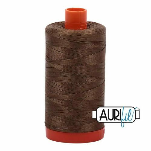 Aurifil 50wt Dark Sandstone (1318) thread