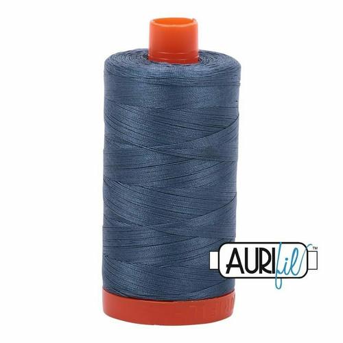 Aurifil 50wt Medium Blue Grey (1310) thread