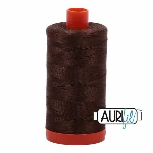 Aurifil 50wt Medium Bark (1285) thread