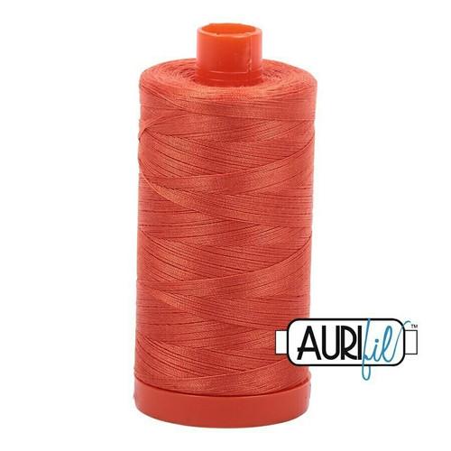 Aurifil 50wt Dusty Orange (1154) thread